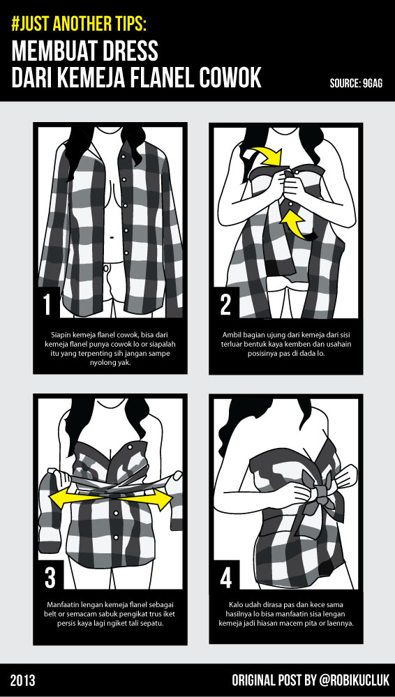 how to make dress from your boyfriend flannel-01