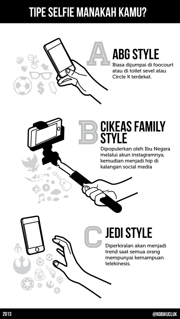Tipe Selfie Manakah Kamu?