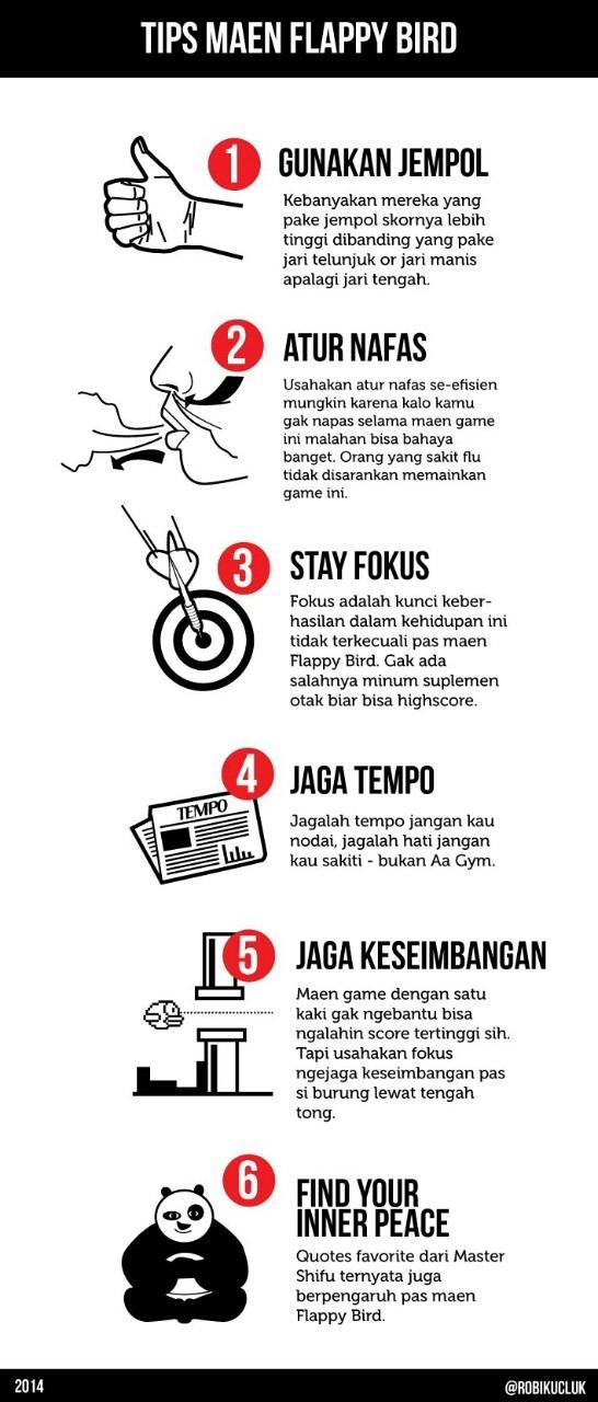 flappy bird tips by robikucuk